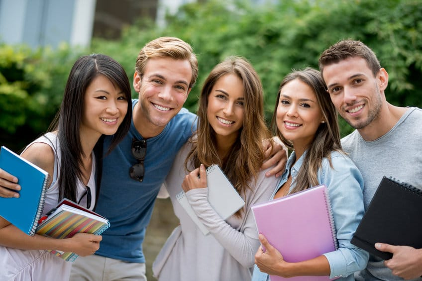 Student Visa Holders study in Australia - group photo